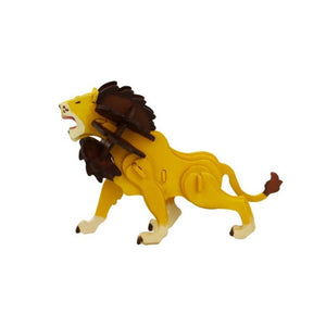 Robotime 3D Wooden Puzzle With Paints Lion