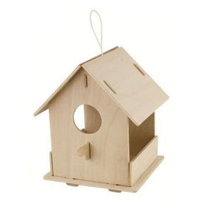 Robotime Birdhouse With Paints (Open)