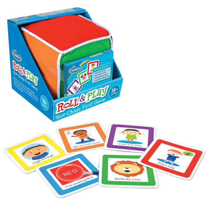 ThinkFun Roll and Play Game for Toddlers - Your Child's First Game!