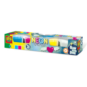 SES Creative Neon And Glow in the Dark Play Dough