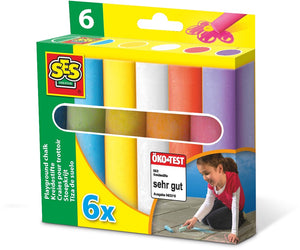 SES Creative Playground Chalk 6 piece