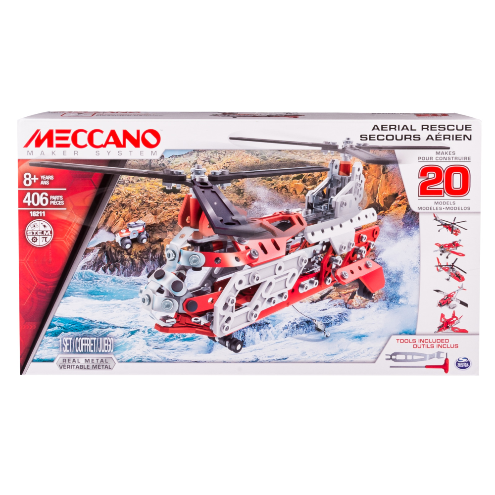 MECCANO 20 Model Set Helicopter
