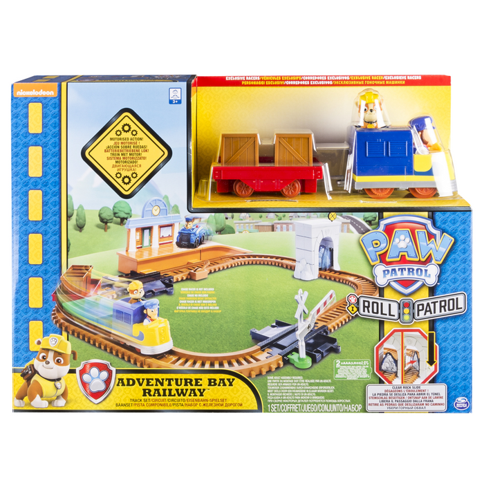 Paw Patrol On a Roll Adventure Bay Railway Set