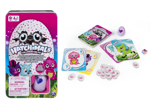Hatchimals Card Game in Tin