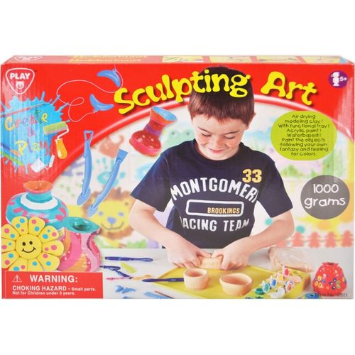 PlayGo Sculpting Art Pottery Set