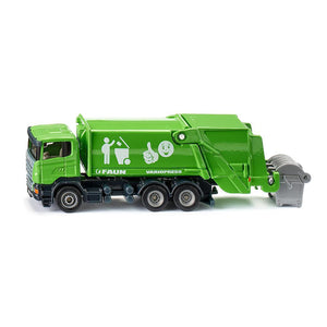 Siku 1/87 Scania Refuse Lorry DT Green