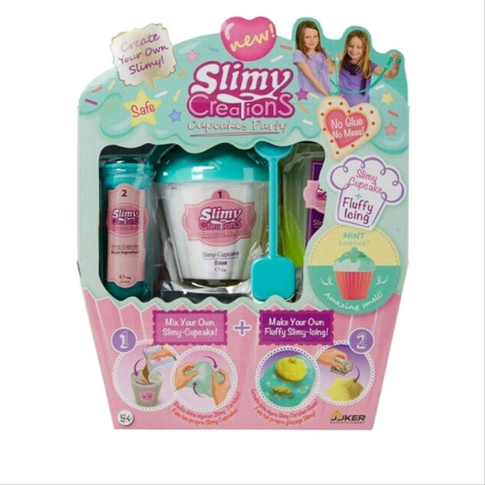 Slimy Creations Cupcakes Party - Mint