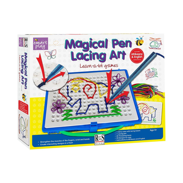 Smart Play Magical Pen Lacing Art