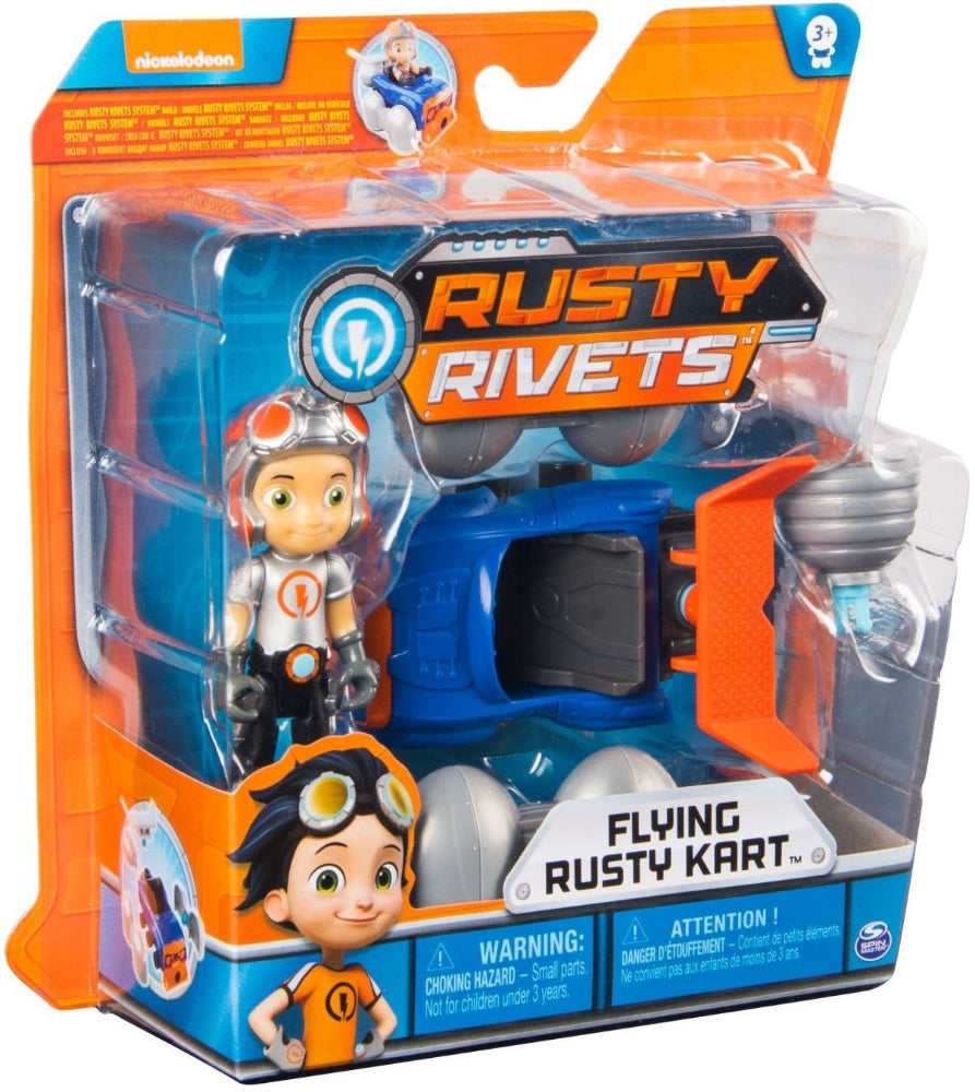 Rusty Rivets Flying Rusty Kart