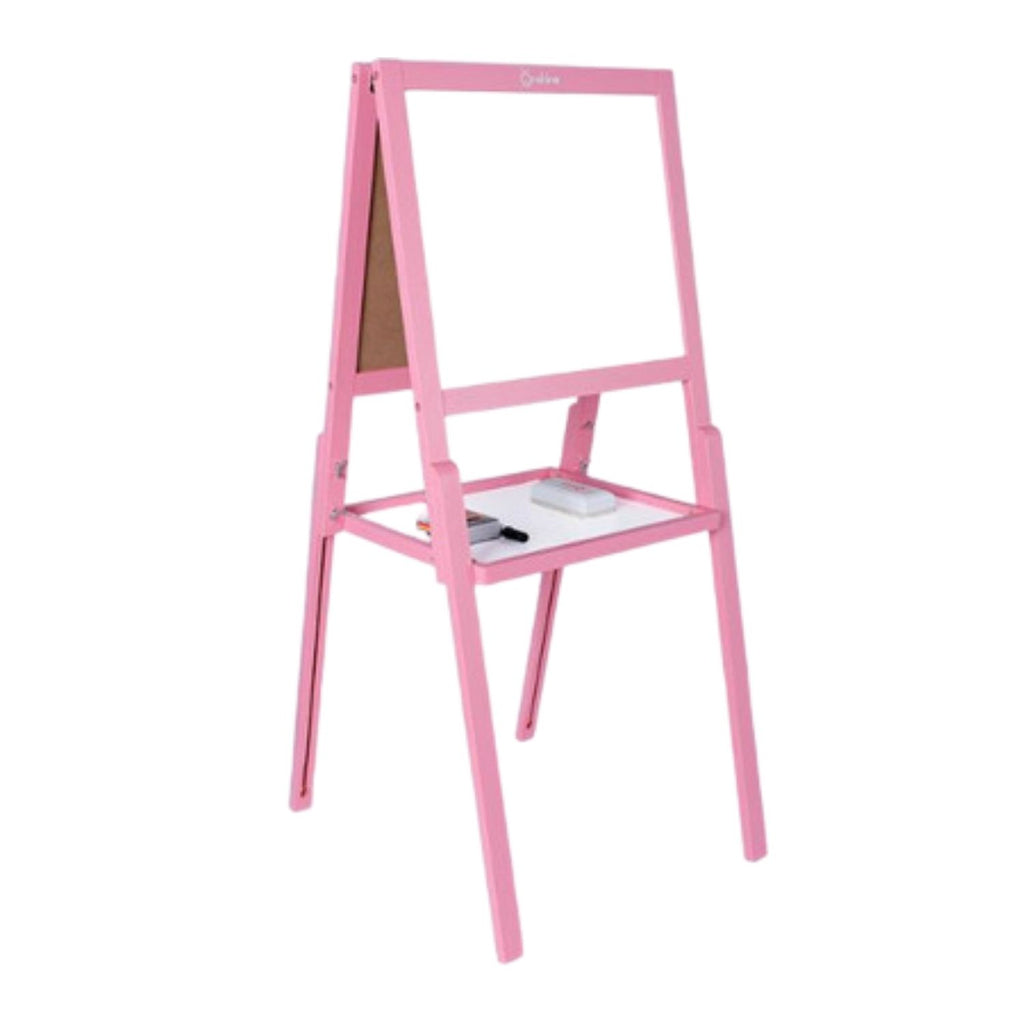 Sunshine Double Sided Creative Easel Pink