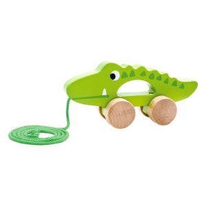 Tooky Toy Pull Along Crocodile