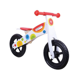 TookyToy Wooden Balance bike - UNBOXED
