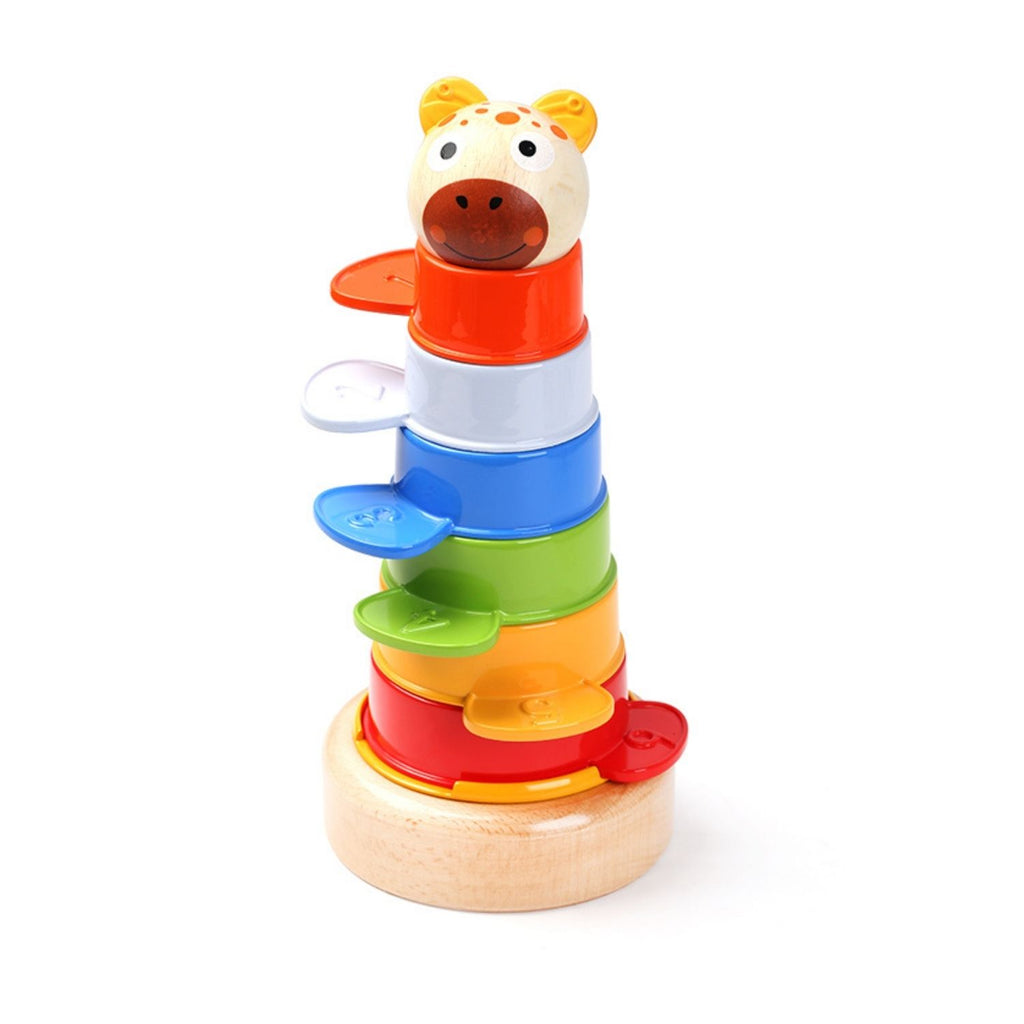 TopBright - 2 in 1 Colourful Tower Stacking Cups 8 Pieces