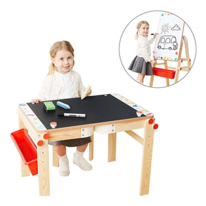 TopBright 2 in 1 Table & Easel