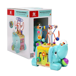 TopBright 5 In 1 Elephant Activity Cube