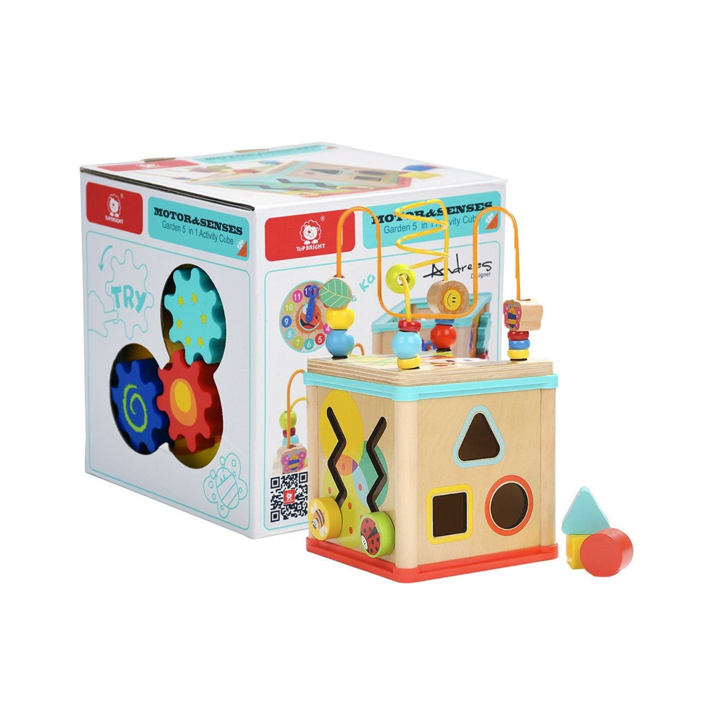 TopBright Garden 5 in 1 Activity Cube