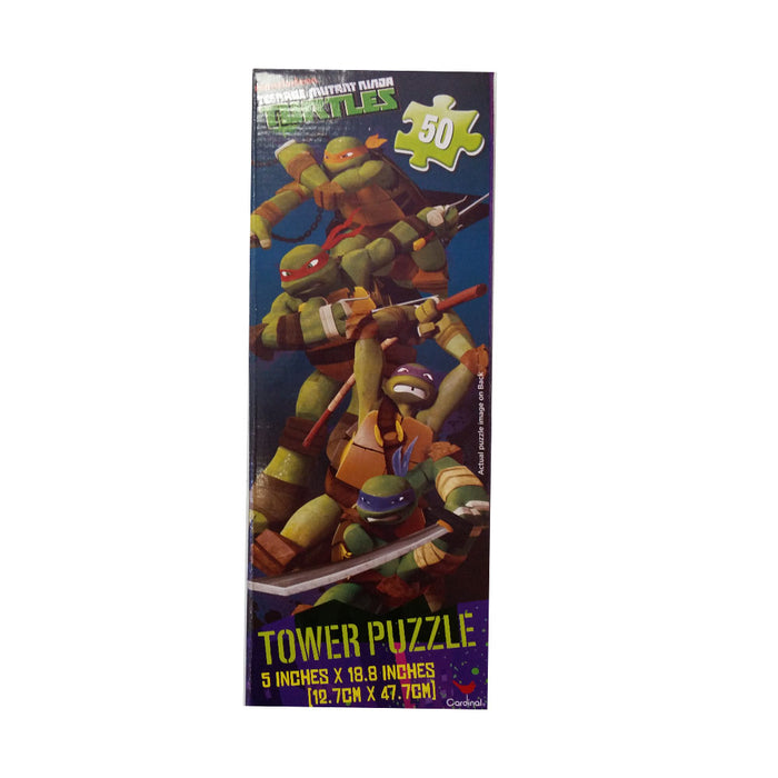 Teenage Mutant Ninja Turtles Mini Tower 50pc Puzzle