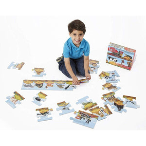 Melissa & Doug Alphabet Train Floor Puzzle (28 pc)