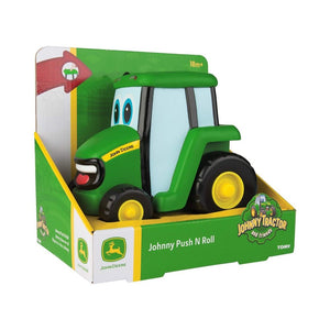 TOMY - Push & Roll Johnny Tractor