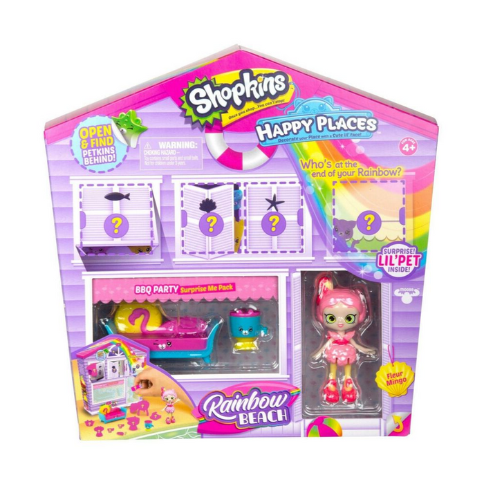 Happy Places Shopkins Rainbow Pack - BBQ Party
