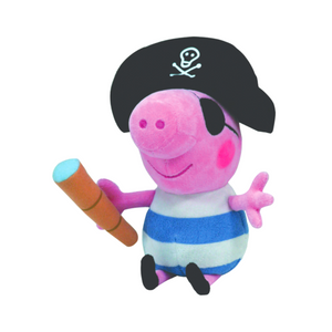 Peppa Pig - Pirate George Plush 25cm