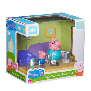 Peppa Pig Scene Backdrop - Living Room