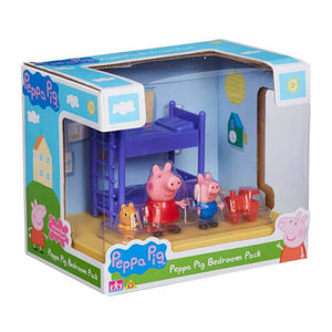 Peppa Pig Scene Backdrop - Bedroom