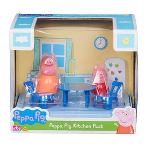 Peppa Pig Scene Backdrop - Kitchen