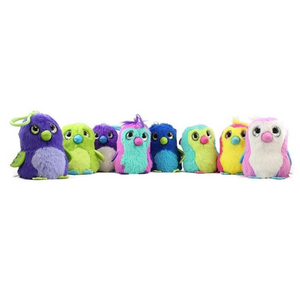 Hatchimals Sound Clip On Mystery Plush