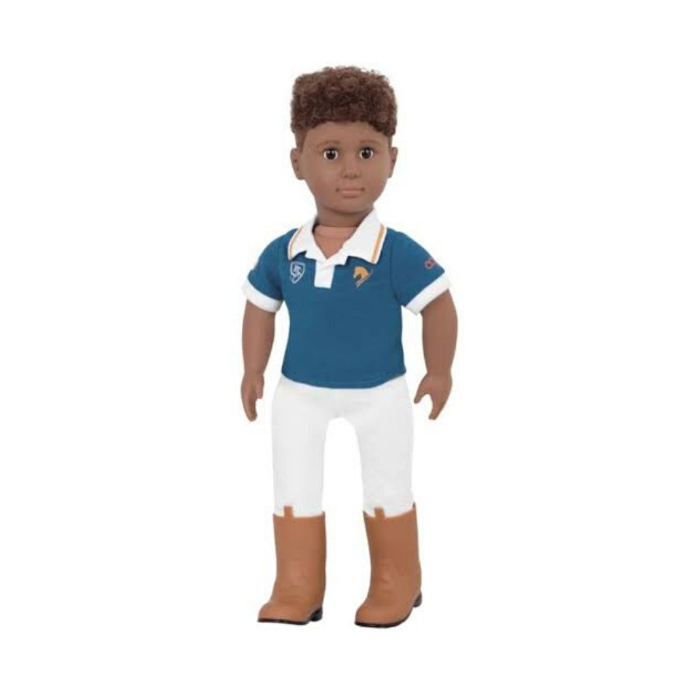 Our Generation Classic Boy Riding Doll Tyler 18inch