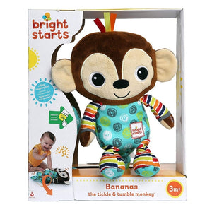 Bright Starts Bananas the Tickle & Tumble Monkey