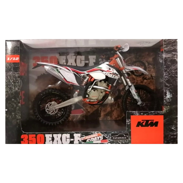 KTM 350 EXC-F Six Days Italy white/Red 2014 1:12