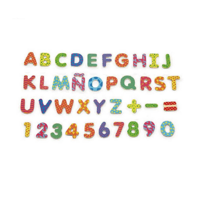 Viga Colourful Magnetic Letters & Numbers