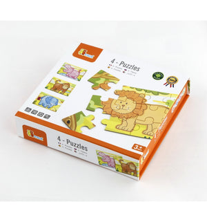 Viga 4-Puzzle Box Jungle