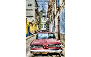 Vintage Car In Old Havana (1x1000pc)