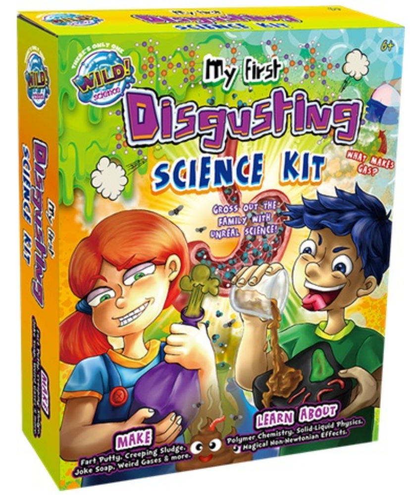Wild Science Disgusting Science Kit