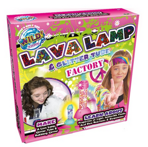 Wild Science Lava Lamp & Glitter Tube Lab