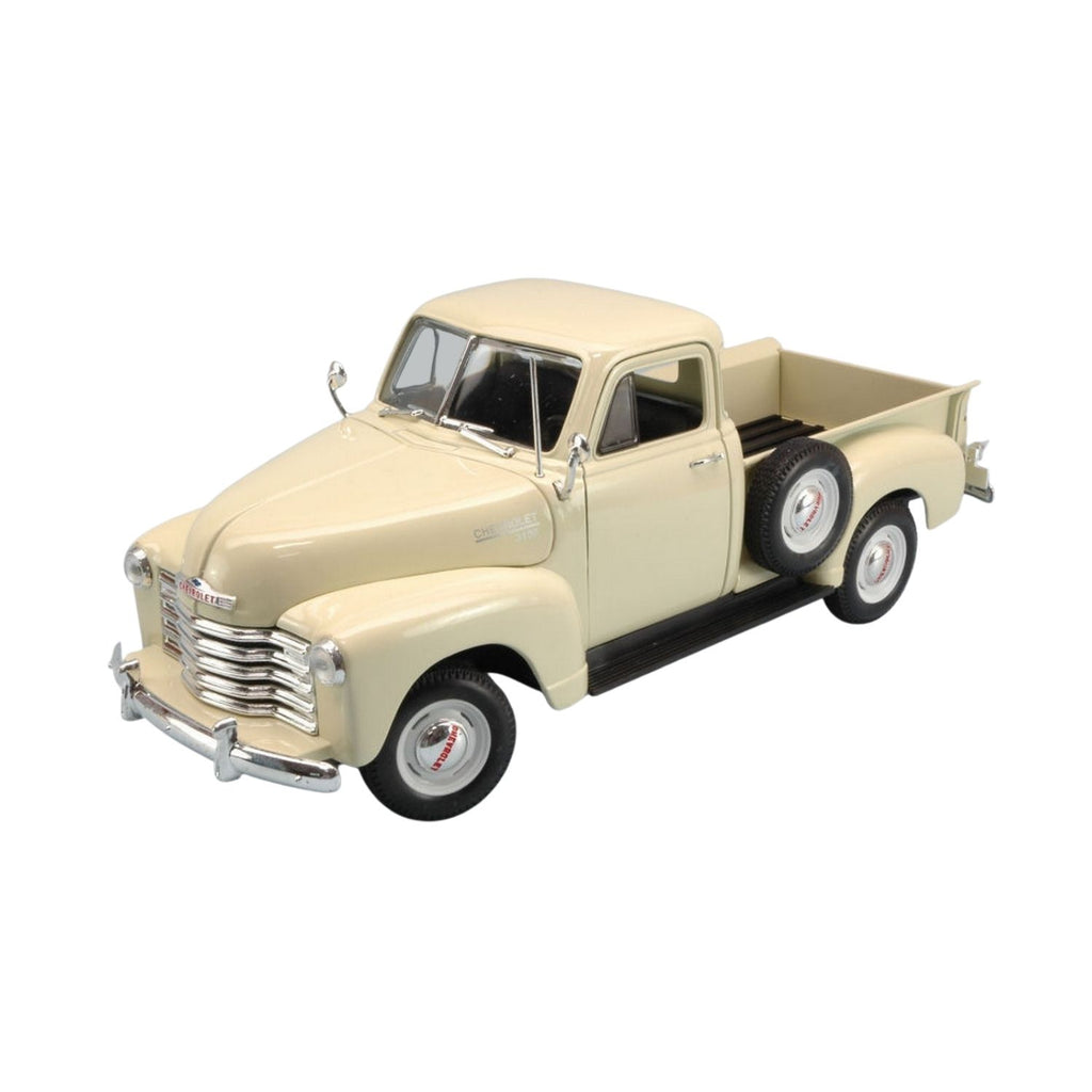 Welly Chevrolet 3100 Pickup Cream 1953 1:24 Scale Diecast Car