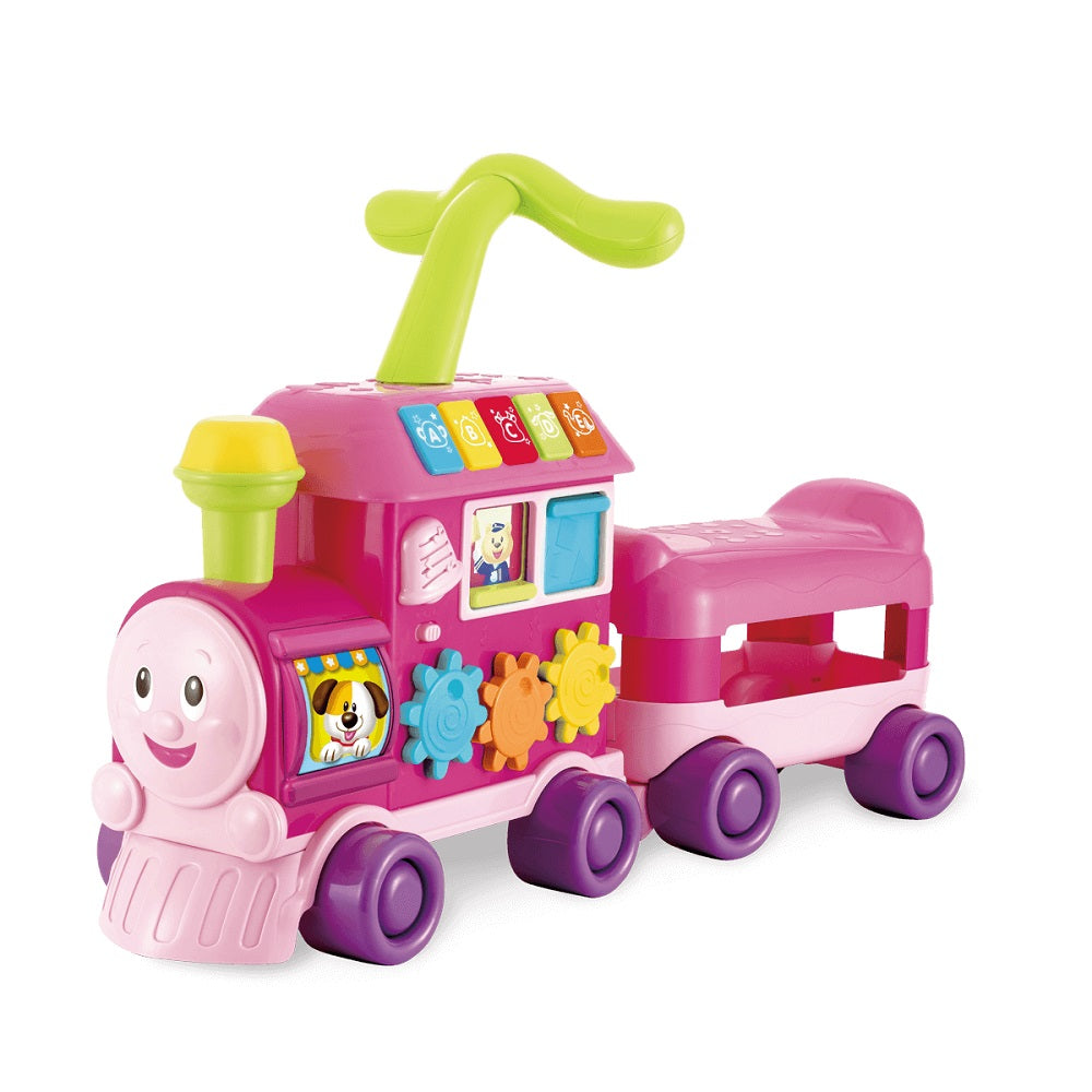 WinFun Walker Ride On Train Pink