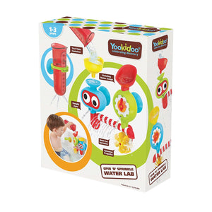 Yookidoo Baby Bath Toy - Spin 'N' Sprinkle Water Lab