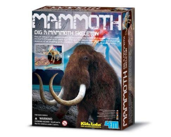 4M Dig-And-Play Kidzlabs Mammoth Skeleton