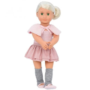 Our Generation Classic Doll Alexa 18 inch Platinum Blonde