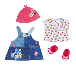 Baby Born Deluxe Jeans Collection Dress