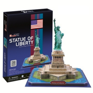 CubicFun Statue Of Liberty (USA) 3D Puzzle 39pc