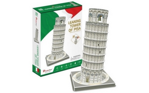 Cubic Fun Leaning Tower of Pisa Italy 27 Piece