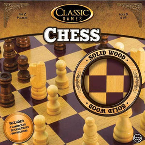 Classic Games Wood Chess Set