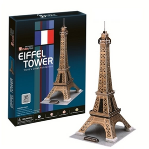 CubicFun Eiffel Tower (France) 3D Puzzle 35pc