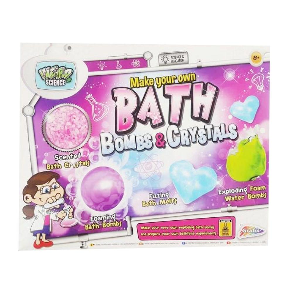 Weird Science Bath Stuff and Bombs