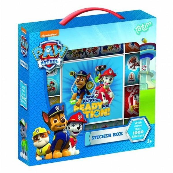Paw Patrol Sticker Box