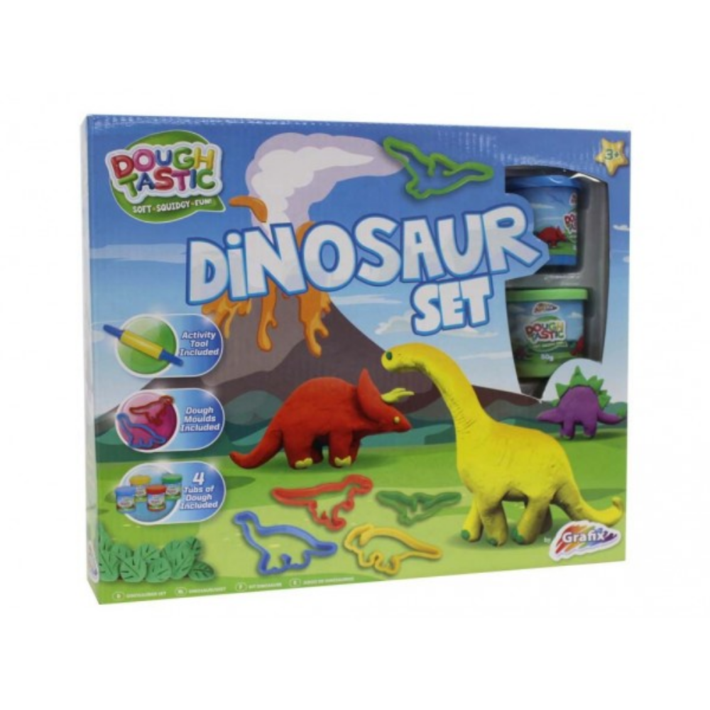 Grafix Dinosaur Dough Kit